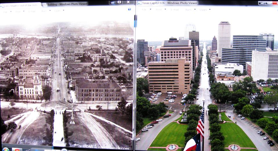 Wilkinson Ranch Then and Now Congress Avenue